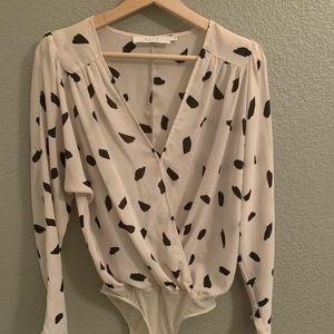ASTR blouse body suit one piece size S